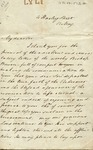 Letter to Philander Chase