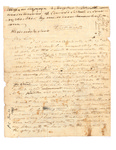 First Draft Copy of Letter to Lord Gambier