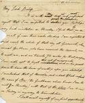 Letter to Bishop of Durham