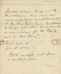 Letter to Rev. Edward Burn