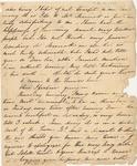 Fragment of Letter to Philander Chase