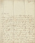 Letter to George Mariott