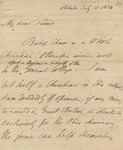Letter to Reverend Ward, Philander Chase