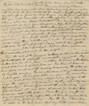 Letter to Olivia Chase