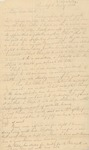 Letter to Dudley Chase by George Chase