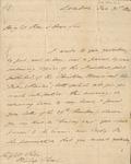 Letter to Josiah Pratt