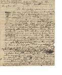 Letter to Reverend J.W. Brooks