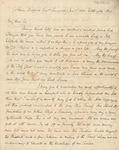Letter to Adam Hodgson