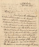 Letter to Captain Wormley