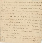 Letter to Philander Chase by G.W. Marriott