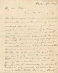 Letter to Sophia Chase by Philander Chase