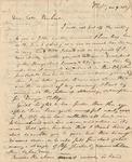Letter to Rachel Denison by Philander Chase