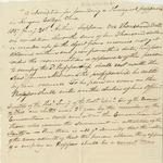 Memorandum on founding Theological Professorship at Kenyon