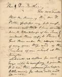 Letter to Benjamin Allen