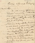Letter to Sophia Chase
