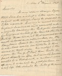 Letter to Rev. William Meade