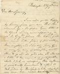 Letter to Mrs. Sigourney
