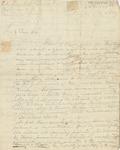 Letter to Rev. Nathaniel Hewitt