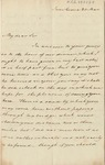 Letter from Lord Gambier