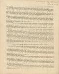 Letter to Rev. William Meade