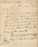 Letter to John Crowell