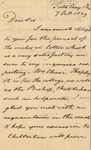 Letter to G.W. Marriott