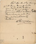Tuition Receipt for Henry Davis