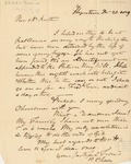 Letter to Rev. Hawley