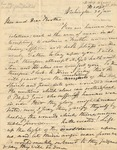 Letter to Rev. Fitch