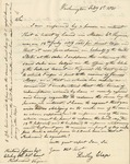 Letter to Richard Jeffries