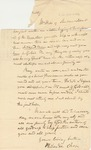 Letter to Dudley Chase