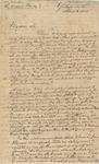 Letter to Aaron Kinney