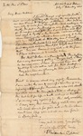 Letter to Samuel Chase