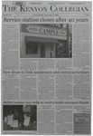 Kenyon Collegian - September 7, 2006