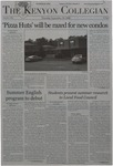 Kenyon Collegian - September 28, 2006