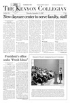 Kenyon Collegian - September 13, 2007