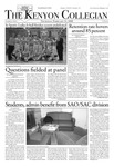 Kenyon Collegian - February 21, 2008
