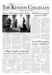 Kenyon Collegian - October 23, 2008