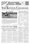Kenyon Collegian - October 30, 2008