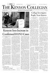 Kenyon Collegian - November 5, 2009