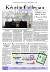 Kenyon Collegian - September 27, 2012