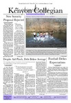 Kenyon Collegian - December 6, 2012