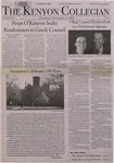 Kenyon Collegian - November 12, 2009