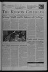 Kenyon Collegian - October 7, 2004