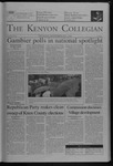 Kenyon Collegian - November 4, 2004