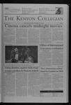 Kenyon Collegian - November 18, 2004