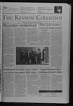 Kenyon Collegian - December 9, 2004