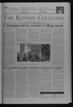 Kenyon Collegian - February 3, 2005