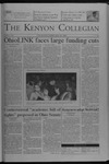 Kenyon Collegian - February 10, 2005