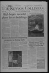 Kenyon Collegian - November 10, 2005
